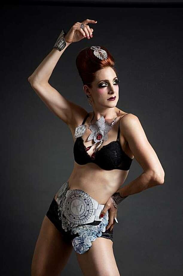 """Monique Jenkinson of """"Luxury Items"""" Photo: Michelle Blioux"""