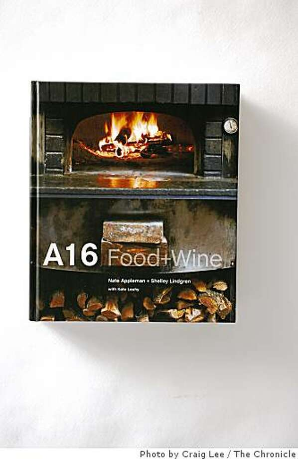 A16 Food and Wine by Nate Appleman and Shelley Lindgren in San Francisco, Calif. on August 1, 2008. Photo by Craig Lee / The Chronicle Photo: Photo By Craig Lee, The Chronicle