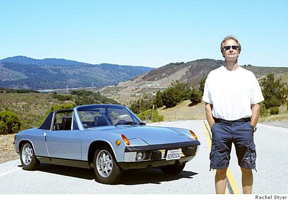 Peter Jann says it was love at first sight when he spotted his red 1976 Porsche 914 back in 1980, which he sold due to costly expenses. But Jann never lost his love of 914s, and a year ago he found a blue 1973 914 on the Internet. ?It ran and felt like a brand-new car,? says Jann of his first drive in the new 914. ?I couldn?t believe it.? Photo: Rachel Styer
