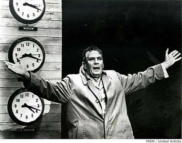 "Peter Finch rants and raves in the 1976 film ""Network"" -- Credit: MGM / United Artists Photo: MGM / United Artists"