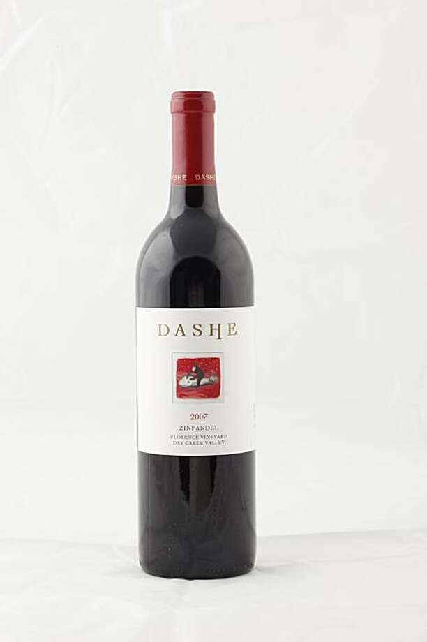 2007 Dashe Zinfandel Florence Vineyard Dry Creek Valley Vintage in San Francisco, Calif., on February 10, 2010. Photo: Craig Lee, Special To The Chronicle