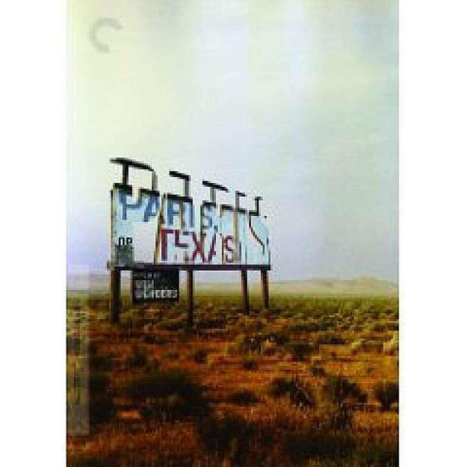 dvd cover PARIS, TEXAS Photo: Amazon.com