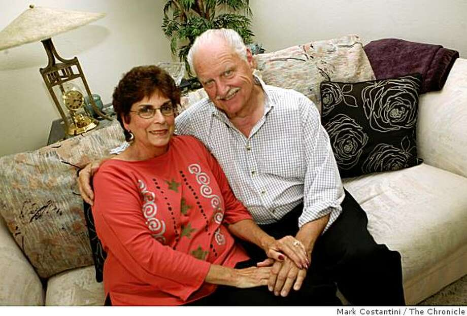 From left, Kaye and Gary Porter pose at home in Novato, Calif., on Monday, August 5, 2008. Photo: Mark Costantini, The Chronicle