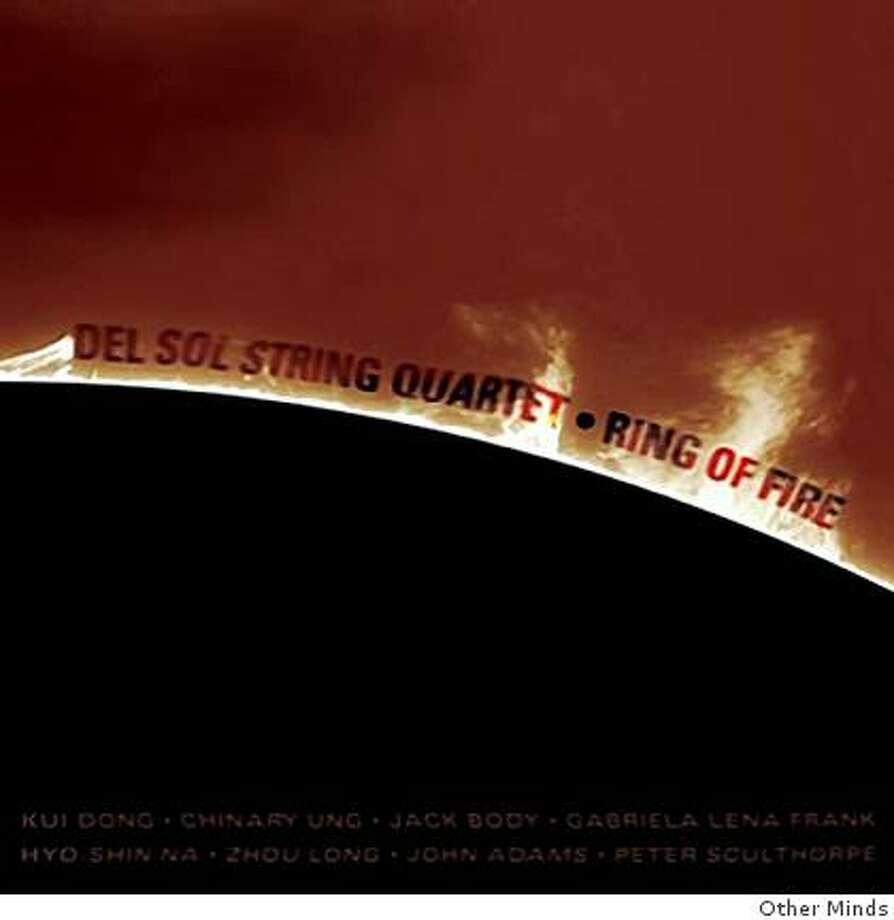 CD cover: Del Sol String Quartet Photo: Other Minds