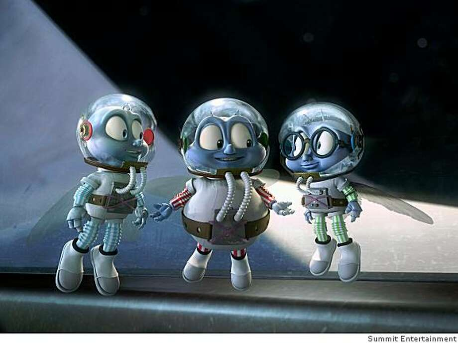 """In this image released by Summit Entertainment, a scene is shown from the animated film, """"Fly Me To The Moon."""" Photo: Summit Entertainment"""