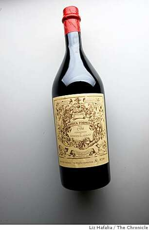 Italian Vermouth from  Giuseppe B. Carpano in San Francisco, Calif., on Thursday, August 7, 2008. Photo: Liz Hafalia, The Chronicle