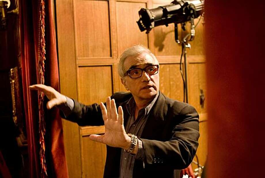 """Martin Scorsese sets up a scene for """"Shutter Island."""" Photo: Andrew Cooper, Paramount"""