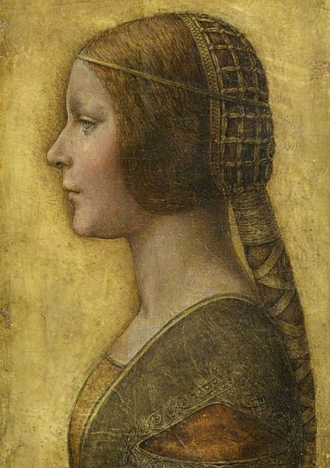 "This photo provided by prof. Alessandro Vezzosi of the ""Museo Ideale Leonardo Da Vinci""  Monday  Aug. 4, 2008, is a reproduction of a 15th century portrait of a young woman. Experts say this artwork previously attributed to an anonymous German artist, is likely a drawing made by Renaissance master Leonardo da Vinci  for a long-distance marriage proposal. The drawing, which could be worth millions if the new attribution is confirmed, was bought in 1998 for US$21,850 (€14,029) by a private collector at an auction in New York, said Alessandro Vezzosi, the director of a museum dedicated to the artist in his hometown of Vinci. ""Every element points to Leonardo,"" said Vezzosi, one of the experts who examined the drawing. (AP Photo/Alessandro Vezzosi - Museo Ideale Leonardo Da Vinci, HO) ** EDITORIAL USE ONLY ** Photo: Alessandro Vezzosi, AP"