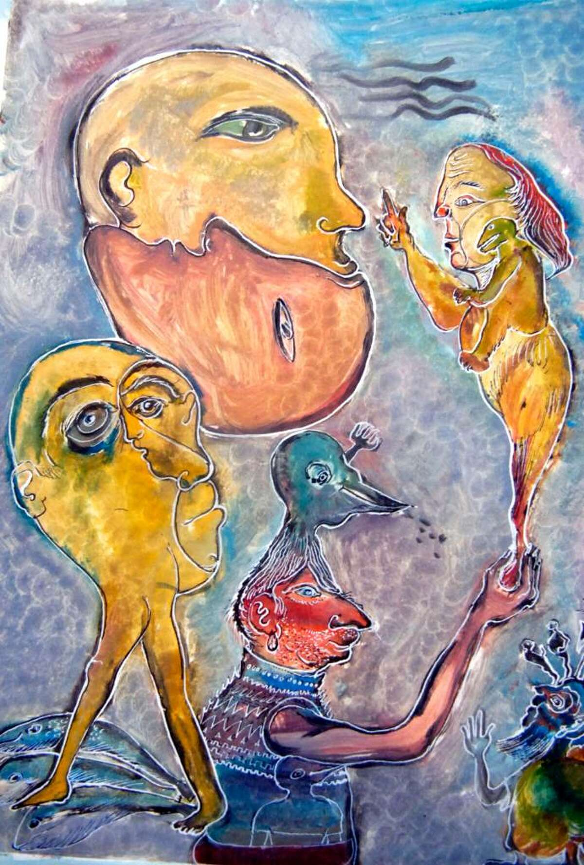 Internationally renowned Dutch artist Kees de Waal's