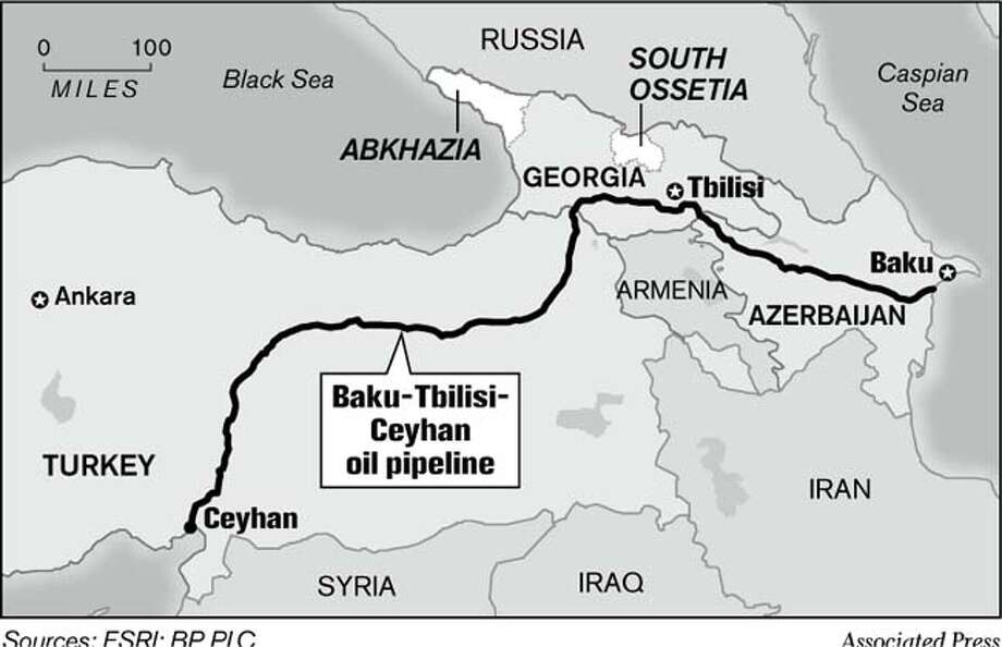 Baku-Tbilisi-Ceyhan oil pipeline (Associated Press)
