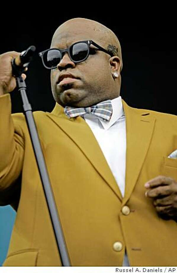 Cee-Lo Green of Gnarls Barkley performs at Lollapalooza in Chicago's Grant Park on Sunday, Aug. 3, 2008 (AP Photo/Russel A. Daniels) Photo: Russel A. Daniels, AP