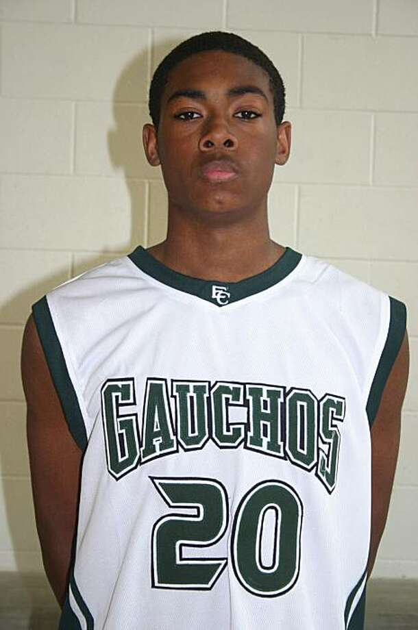 El Cerrito High sophomore David Gurganious collapsed during a Feb. 2, 2010 basketball game. Photo: Courtesy El Cerrito High