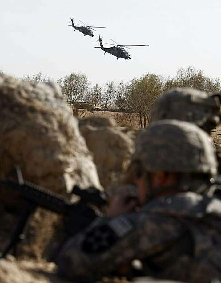 Marines test Taliban defenses ahead of attack - SFGate