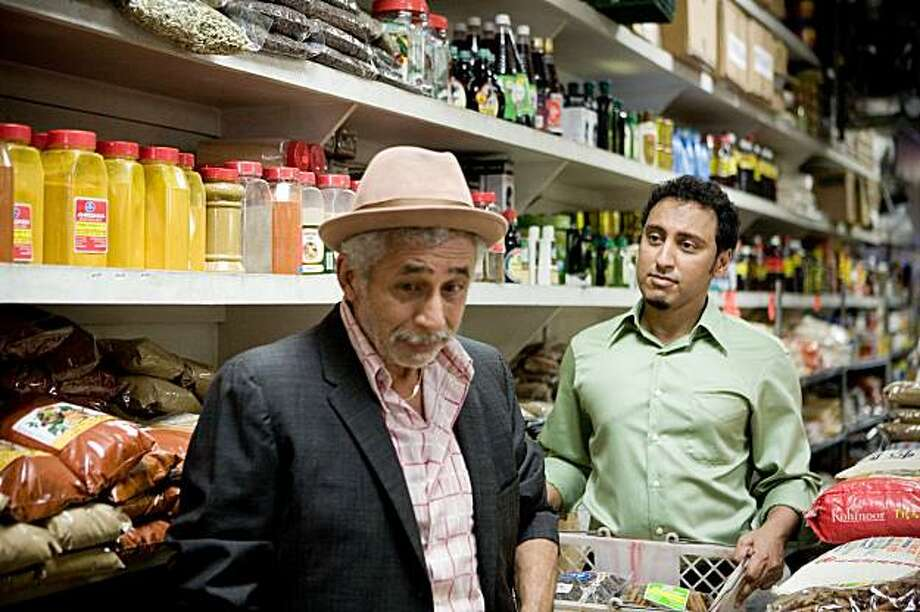 "Aasif Mandvi (right) stars in David Kaplan's film ""Today's Special,"" which also stars Naseeruddin Shah (left). The comedy opens the 28th San Francisco International Asian Film Festival on March 11, 2010 at the Castro Theatre. Photo: Courtesy Of SFIAFF"
