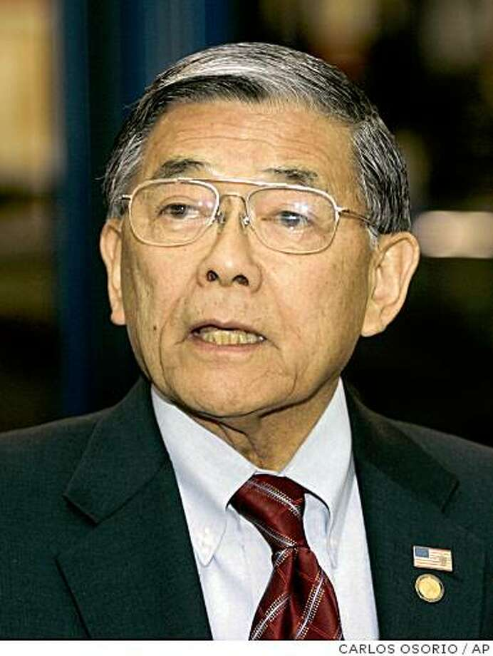Norman Mineta Photo: CARLOS OSORIO, AP
