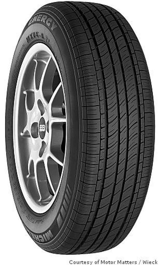 New tire compounds are allowing tire makers to maintain performance and fuel efficiency. High fuel-efficient tires include Michelin Energy and Latitude. Photo: Wieck