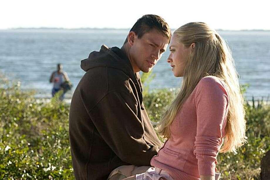 "Channing Tatum and Amanda Seyfried star in Screen Gems' romantic drama, ""Dear John"". (Scott Garfield/Screen Gems/MCT) Photo: Scott Garfield, MCT"