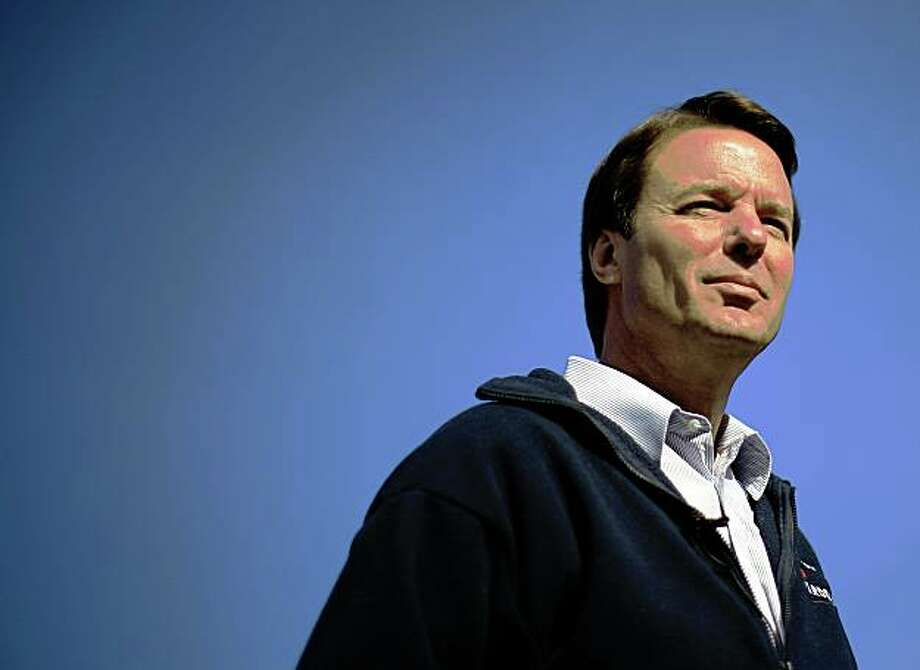 (FILE PHOTO)  Democratic presidential hopeful former U.S. Senator John Edwards (D-NC) speaks at the Student Association for Voter Empowerment (SAVE) young voters town hall, Lexington Room, Columbia Convention Center January 25, 2008 in Columbia, South Carolina. According to reports, Edwards admitted to having an affair with 42-year-old Rielle Hunter, but has denied a report that he has fathered a child. Photo: Eric Thayer, Getty Images