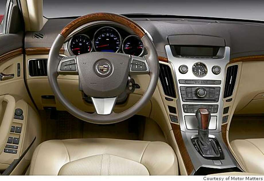 2008 Cadillac CTS Photo: Courtesy Of Motor Matters