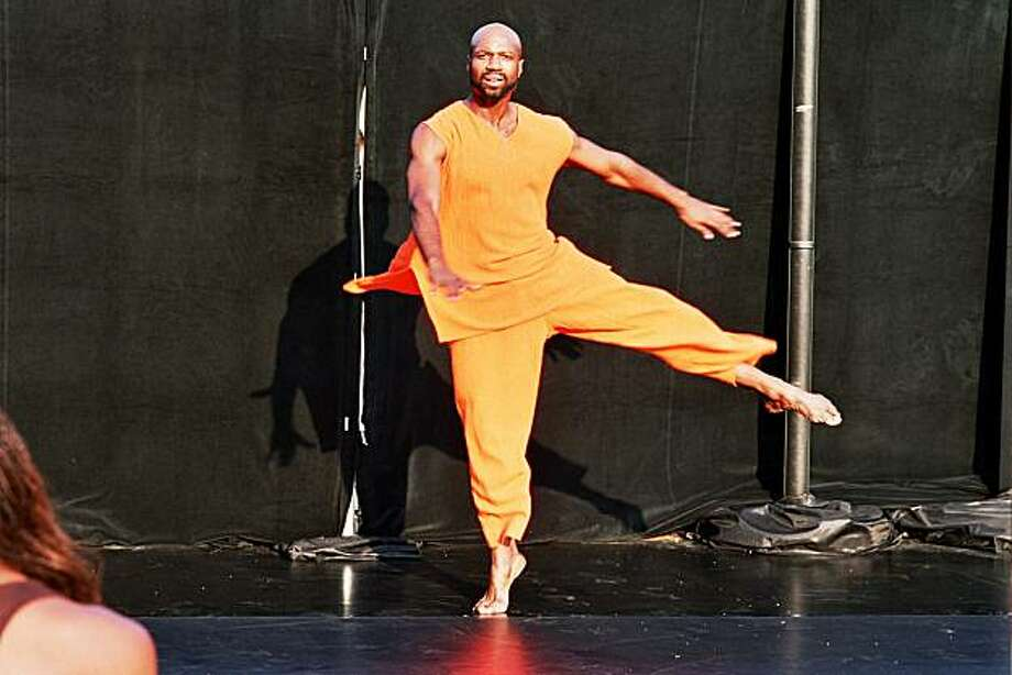 Ronald K. Brown performs at YBCA Feb. 4-6 Photo: Anthony Pond