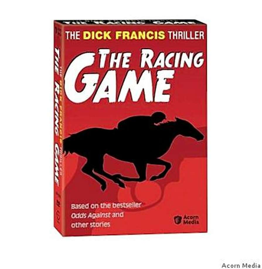 "DVD cover: ""The Dick Francis Thriller: The Racing Game"" Photo: Acorn Media"