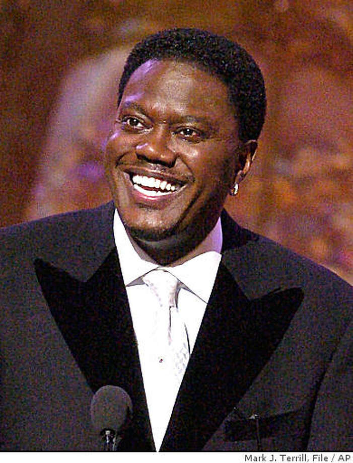 ** FILE ** Bernie Mac is shown in this, March 6, 2004, file photo in Universal City, Calif. Bernie Mac is in a Chicago hospital with pneumonia. His publicist, Danica Smith, says in a statement that the 50-year-old comedian is responding well to treatment and should be released soon. He entered the hospital Friday, Aug. 1, 2008 and remained there Saturday.  (AP Photo/Mark J. Terrill, file) Photo: Mark J. Terrill, File, AP