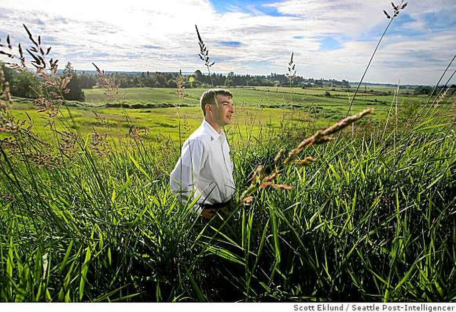 John Jack was hired in 2004 to oversee a major project in Washington state where his company, American Eagle Communities, would build more than 600 new homes for military families and renovate hundreds of others.  Not long after he took over the project, Jack noticed unauthorized expenditures and changes in specifications and cost overruns, none of which were being approved by the Navy. He objected, and was told to ignore the problems. He talked to the Navy, and was told not to do so anymore. The Navy began to investigate and immediately the company fired him. Jack is at one of the property sites in Marysville, Wash. on Wednesday June 25, 2008.(Photo Scott Eklund/Seattle Post-Intelligencer) Photo: Scott Eklund, Seattle Post-Intelligencer