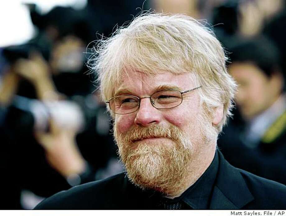 "** FILE ** In this May 23, 2008 file photo, actor Philip Seymour Hoffman arrives for the premiere of "" Synecdoche, New York"" during the 61st International film festival in Cannes, southern France.  (AP Photo/Matt Sayles, file) Photo: Matt Sayles, File, AP"