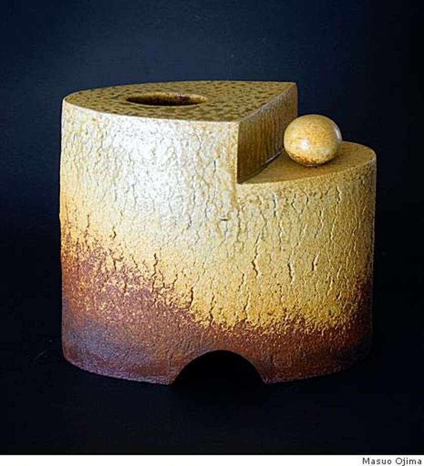 Masuo Ojima's Vase with Ball Photo: Masuo Ojima