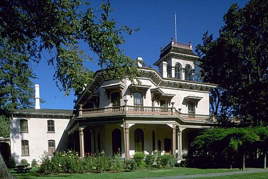 Bidwell Mansion State Historic Park Photo: Robert Holmes, California Travel & Tourism Comm