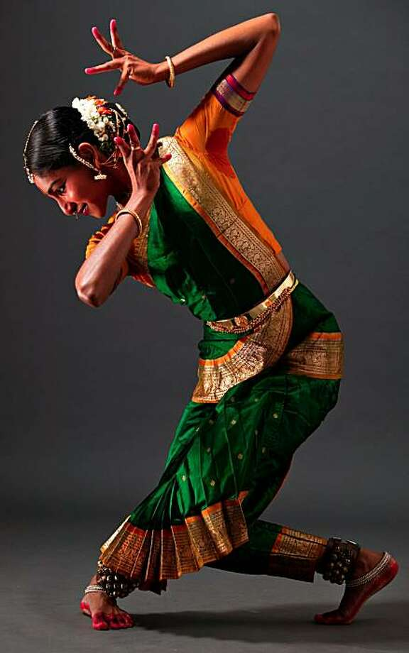 "Classical Indian dancer Shantala Shivalingappa will perform the work ""Gamaka"" at 8 p.m. Thursday, February 4 at the Herbst Theatre accompanied by musicians, presented by San Francisco Performances Photo: C.P. Satyajit"