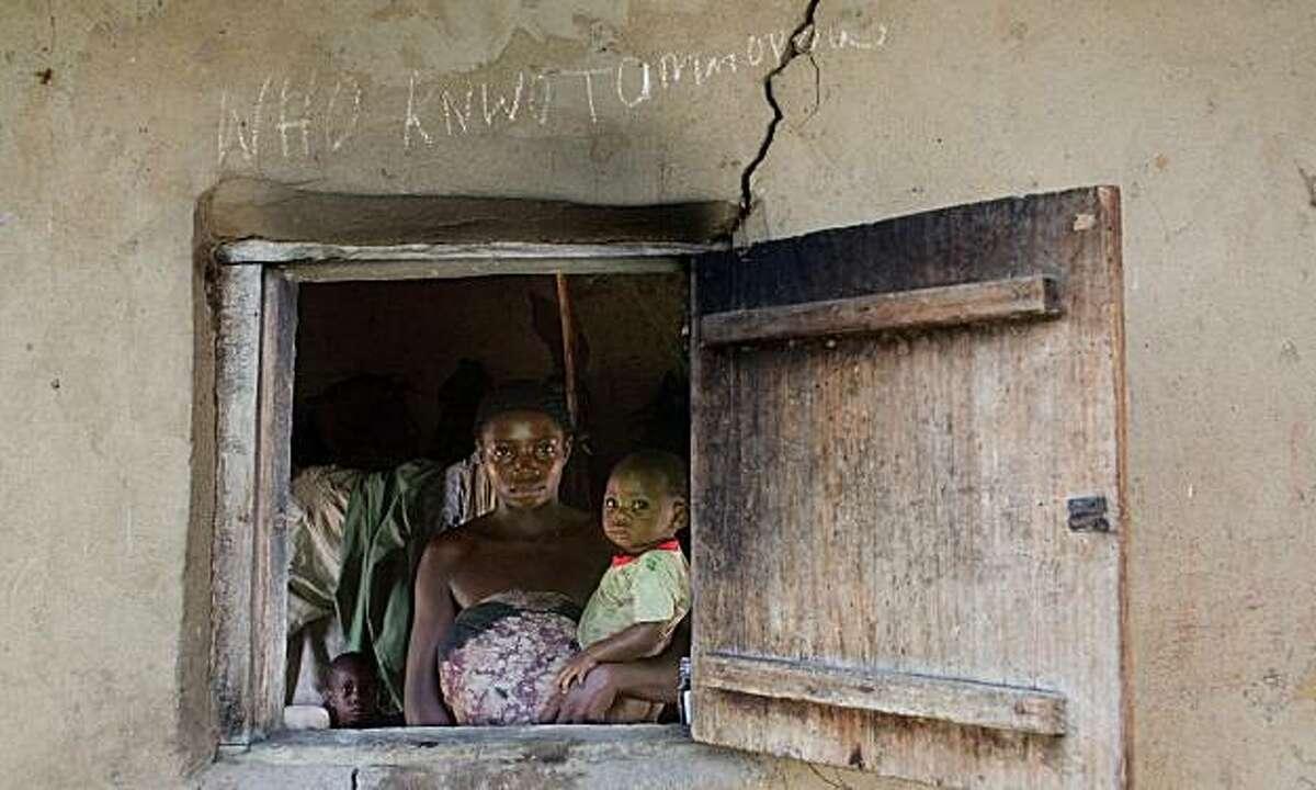 """Who Know Tomorrow?"" -- Leprosy village in Ossiomo, Nigeria"