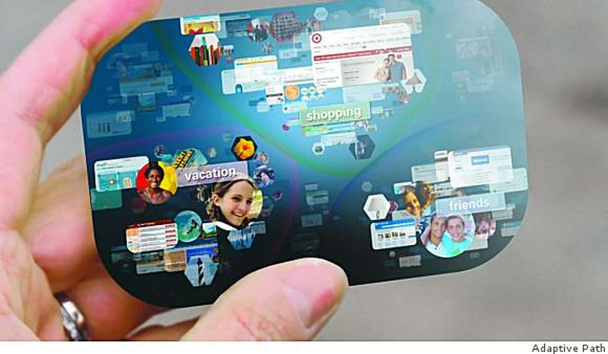 These video screen grabs show what the Internet browser of the future might look like.