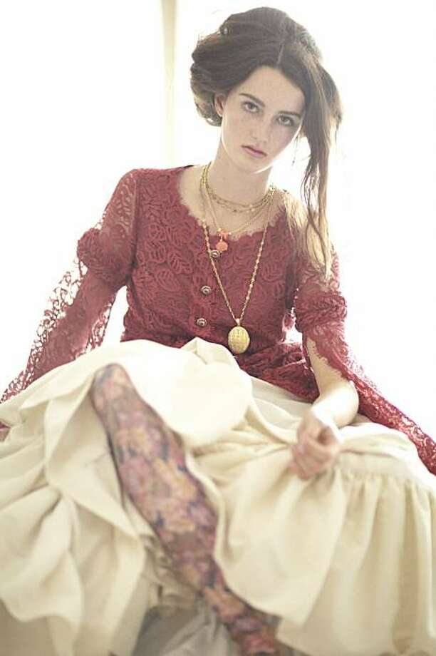 Images of Victoriana-influenced fashions styled by Sharon Maloney and photographed by Peter Z. Jones. Photo: Peter Z Jones, Special To The Chronicle