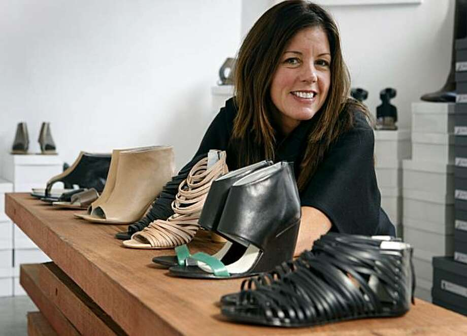 Shoe designer Martha Davis is seen at her studio in San Francisco, Calif., on Tuesday, Nov. 10, 2009. Photo: Paul Chinn, The Chronicle