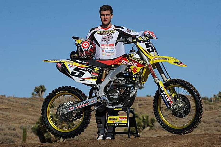 Rookie Ryan Dungey, 20, is the youngest person ever to lead Supercross series. He has had 2 straight wins and a second in three races coming into San Francisco, Calif.  A combination of good luck and hard work have thrust Dungey to top. Photo: Courtesy Rockstar Makita Suzuki