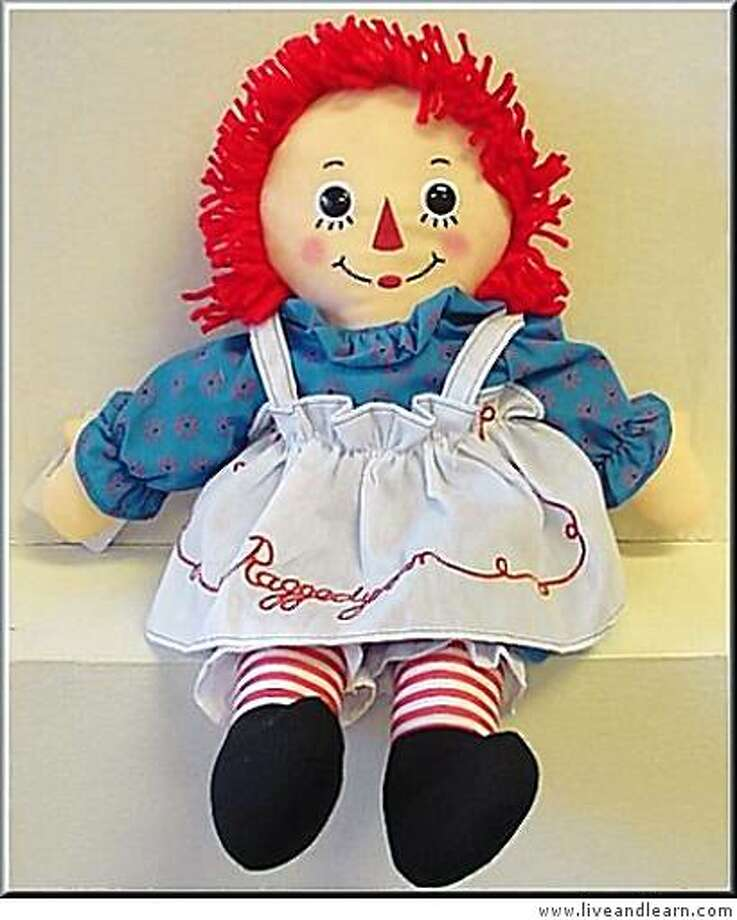 2002 Inductee: Raggedy Ann Photo: Www.liveandlearn.com