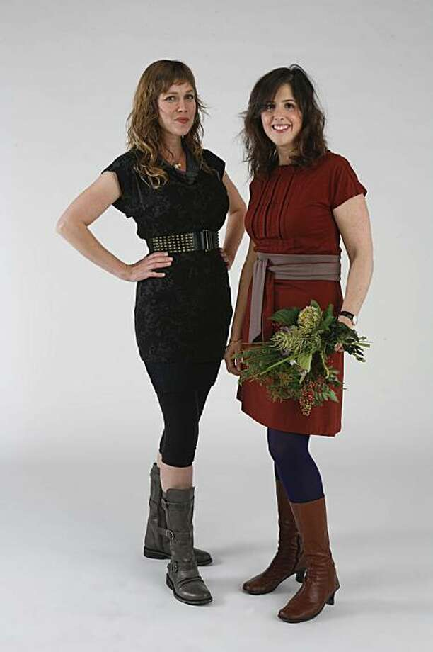 Flora Grubb, left, and Susie Nadler of Flora Grubb Gardens are this week's Stylemakers. Photo: Russell Yip, The Chronicle