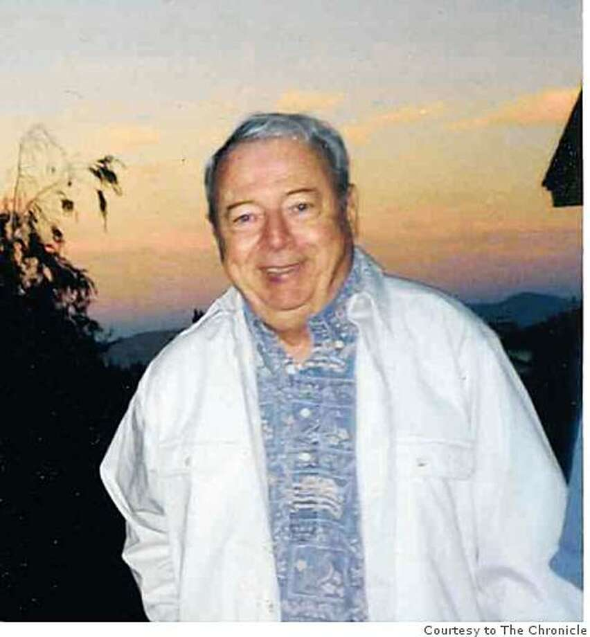 Frank Delaplane of Reno, who died Aug. 4, 2008, in Reno at 79. He was former managing editor of the Reno Evening Gazette and Nevada State Journal. Photo: Courtesy To The Chronicle