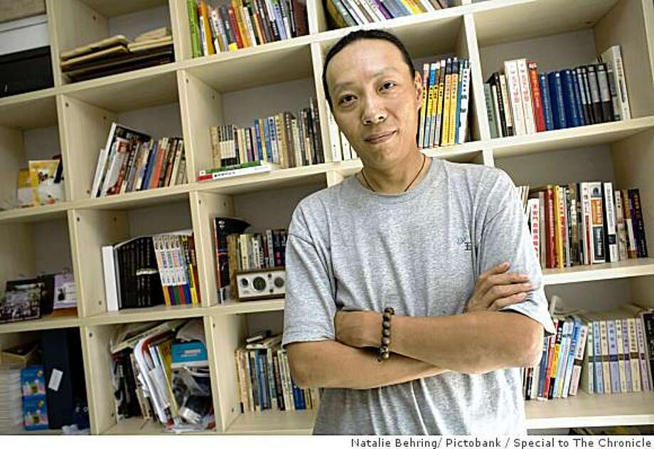 Chinese blogger Keso in his home in northern Beijing. Photo by Natalie Behring / Pictobank / Special to The Chronicle Photo: Natalie Behring/ Pictobank, Special To The Chronicle