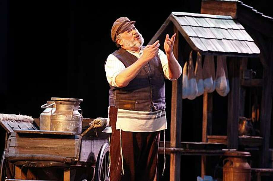 "Harvey Fierstein as Tevye in ""Fiddler on the Roof"" Photo: Carol Rosegg"