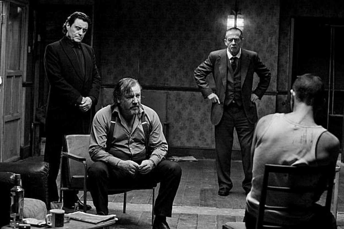 Ian McShane, left, Ray Winstone, John Hurt and Melvil Poupaud in