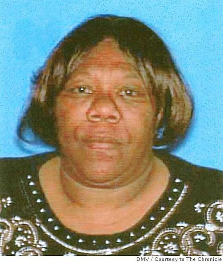 50-year-old Richmond grandmother Lisa Washington was killed shortly after 10 p.m. on Monday, July 28, 2008 in Richmond, Calif. Washington was watching her grandchildren in a courtyard outside her Richmond home when she was shot and killed. Photo by DMV / Courtesy to The Chronicle Photo: DMV, Courtesy To The Chronicle