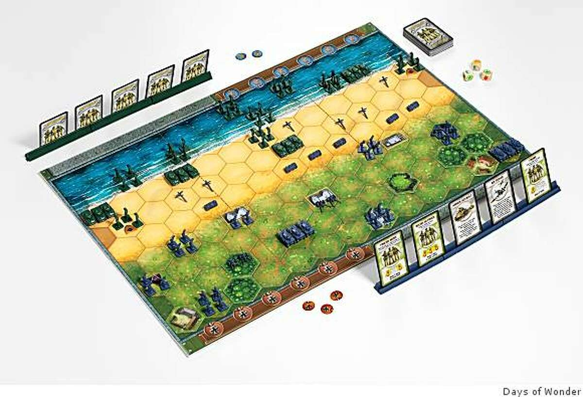 An image of the tactical board game, Memoir '44, based on historical events of World War II. Published by Days of Wonder. The game retails for $50.