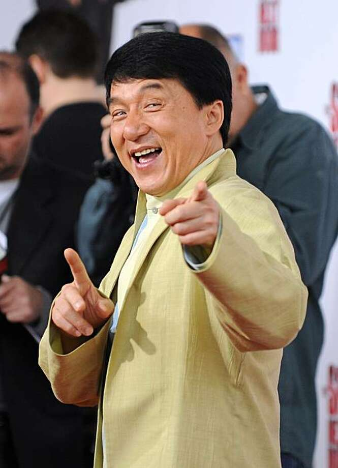 Jackie Chan: Tough part is English, not stunts - SFGate