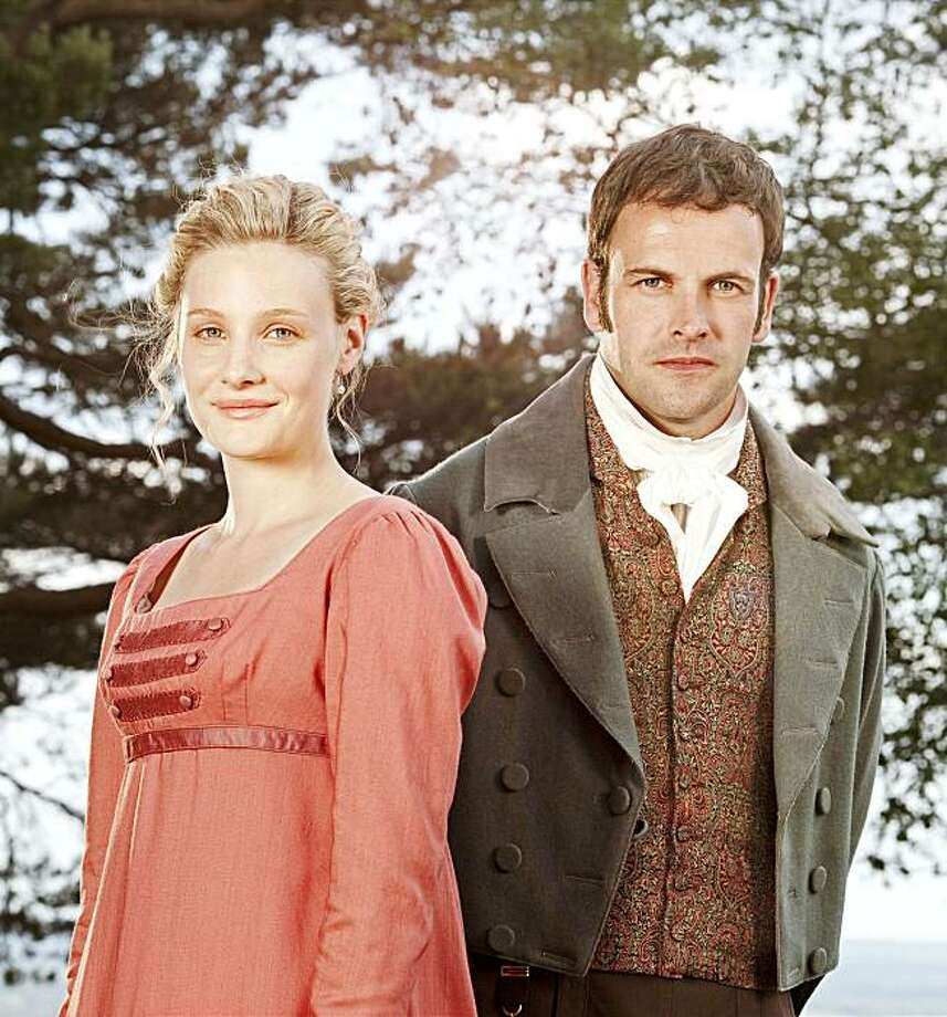 "MASTERPIECE™ CLASSIC 'Emma:' A lavish new adaptation of one of Jane Austen's most popular novels stars Romola Garai (left) as the ""handsome, clever and rich"" heroine and Jonny Lee Miller as her suitor, Mr. Knightley. WARNING This image may only be used for publicity purposes in connection with the broadcast of the programme as licensed by BBC Worldwide Ltd & must carry the shown copyright legend. It may not be used for any commercial purpose without a licence from the BBC.     © BBC 2009 Photo: David Venni  David Venni, BBC"