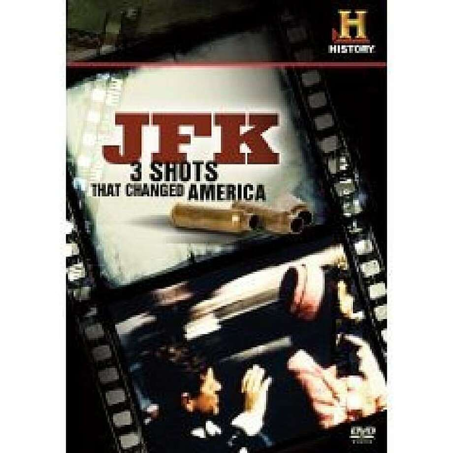 dvd cover JFK: 3 DAYS THAT CHANGED AMERICA Photo: Amazon.com