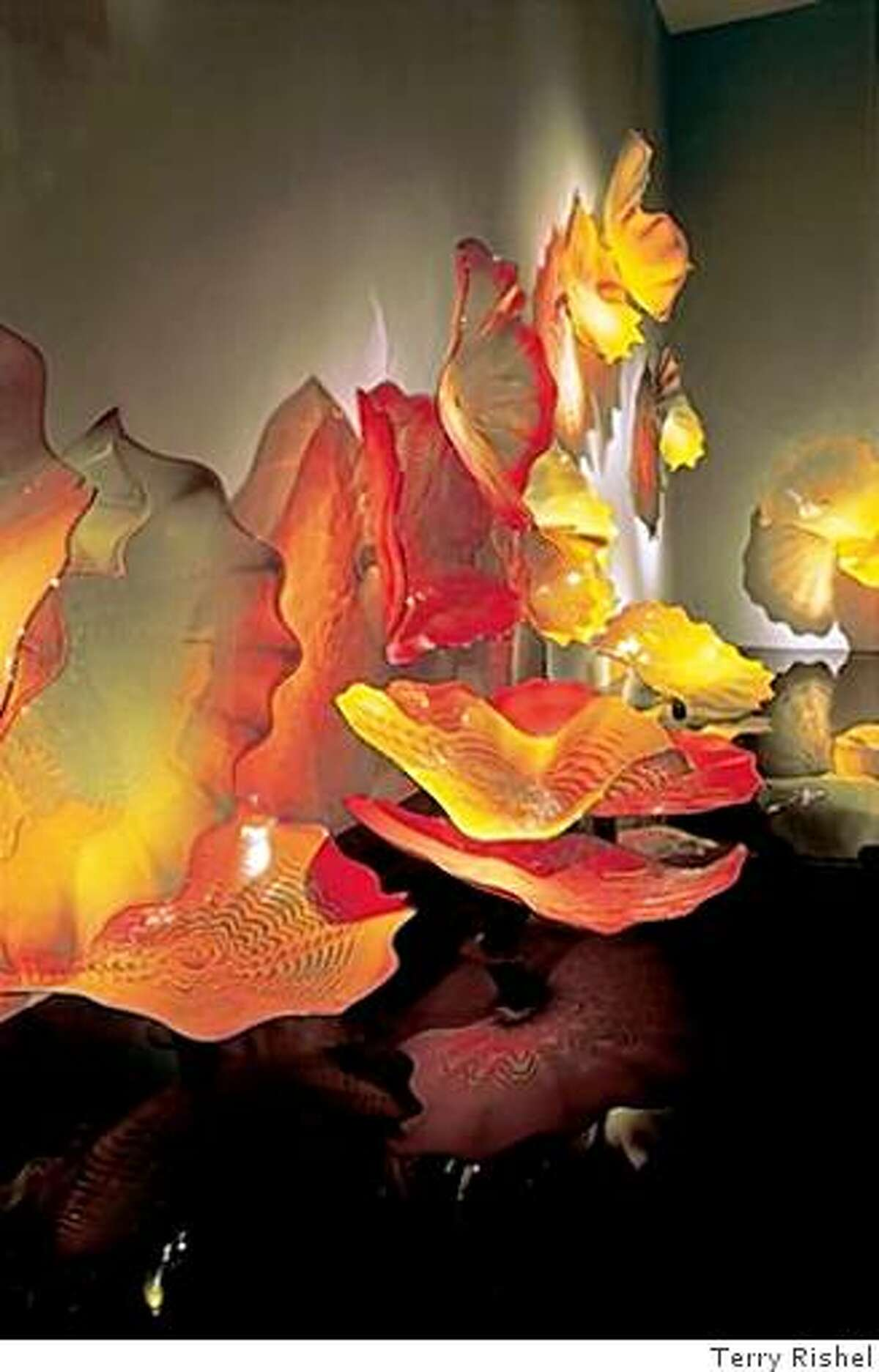"""""""Persian Wall"""" by Artist Dale Chihuly"""