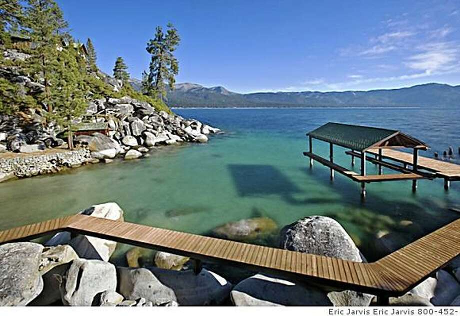 Boat dock was rebuilt 5 years ago The old Stack estate is for sale. Within walking distance to the CalNeva lodge the estate comprises 1800 feet of shoreline and 12 acreas on Lake Tahoe's North Shore. Price is $29,9 million. Photo: Eric Jarvis Eric Jarvis 800-452-