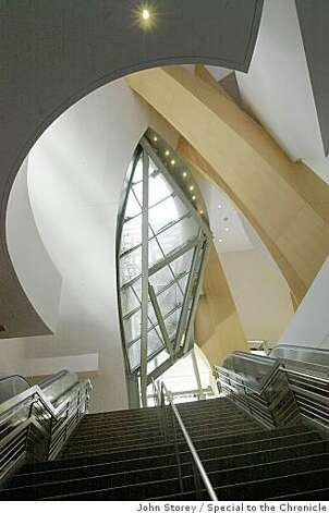 The Walt Disney Concert Hall in downtown Los Angeles designed by internationally renowned architect Frank Gehry. Photo: John Storey, Special To The Chronicle